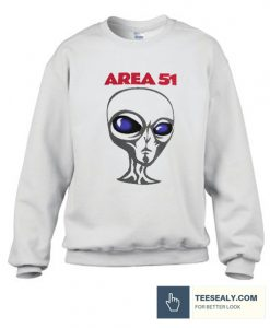 area 51 alien Stylish Sweatshirt