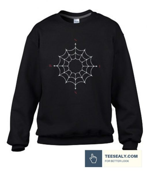 web compass Stylish Sweatshirt