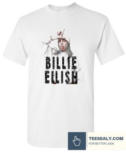 Billie Eilish White Stylish T Shirt