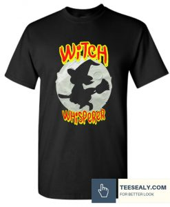 Witch Whisperer Halloween Witch Hunt T Shirt
