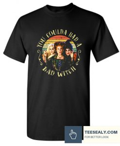 You Coulda Had A Bad Witch Halloween TShirt