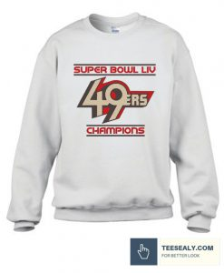 49ers SUPER BOWL SHIRT Big Game Champions Stylish Sweatshirt