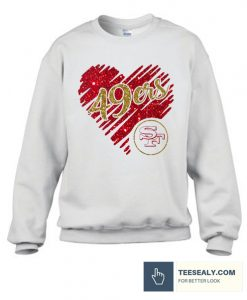 49ers love Stylish Sweatshirt