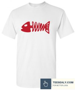 Valentine TShirt Fish Bone Stylish T Shirt