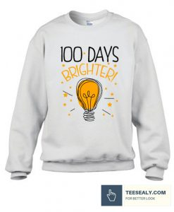 100 Days Of School Cute Stylish Sweatshirt