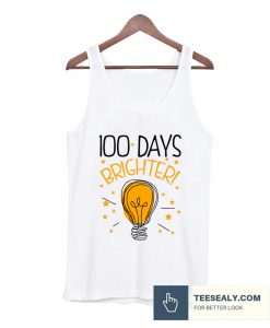 100 Days Of School Cute Stylish Tanktop