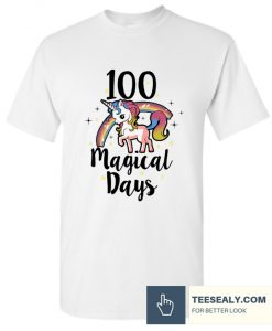 100 Days Of School Cute magical days Stylish T Shirt