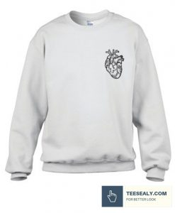 Anatomical Heart Stylish Sweatshirt
