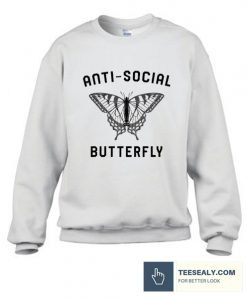 Anti Social Butterfly Sweatshirt