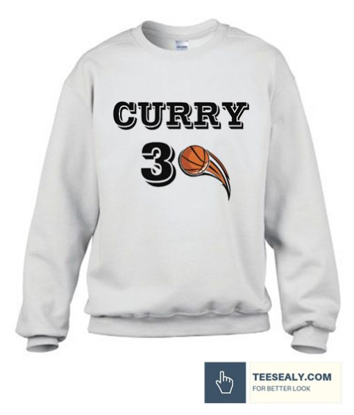 Curry #30 Basketball Sweatshirt
