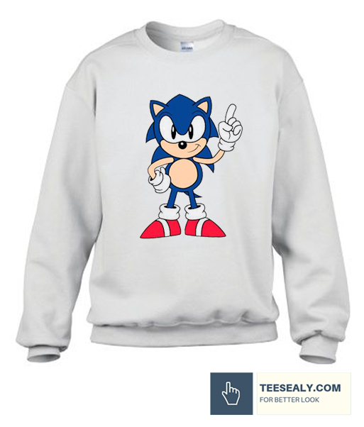 Sonic The Hedgehog Funny Sweatshirt