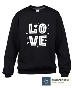 Valentine Day L.O.V Stylish Sweatshirt