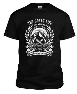 The Great Life High Mountain RZ T-Shirt