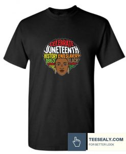 Juneteenth Black History Black Culture Stylish T Shirt